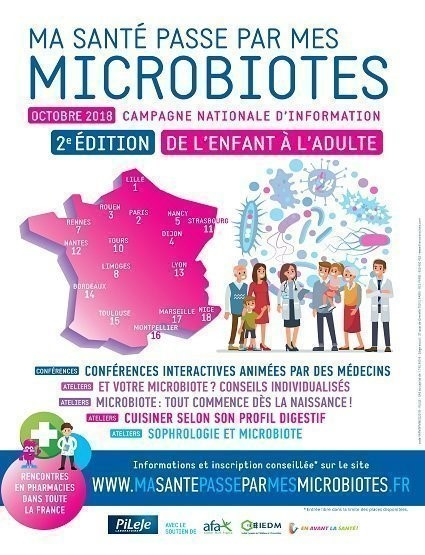 affiche microbiotes